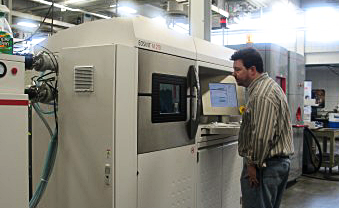 The University of Louisville's  Rapid Prototyping Center  has world class capabilities for 3-D printing and additive manufacturing of metals, ceramics and polymers.