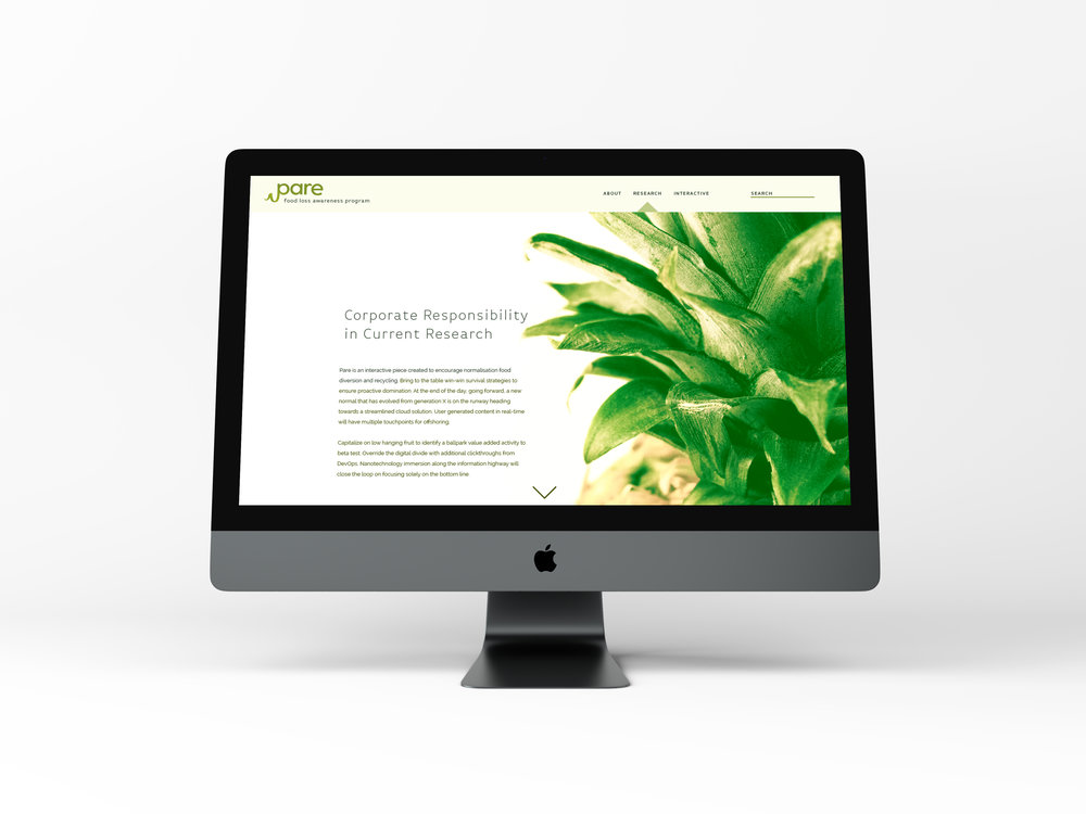 Corporate Food Waste Reduction Web App