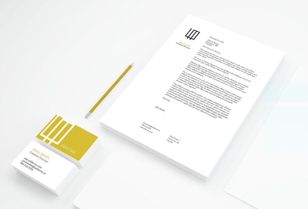 University of Alberta Press Rebranding