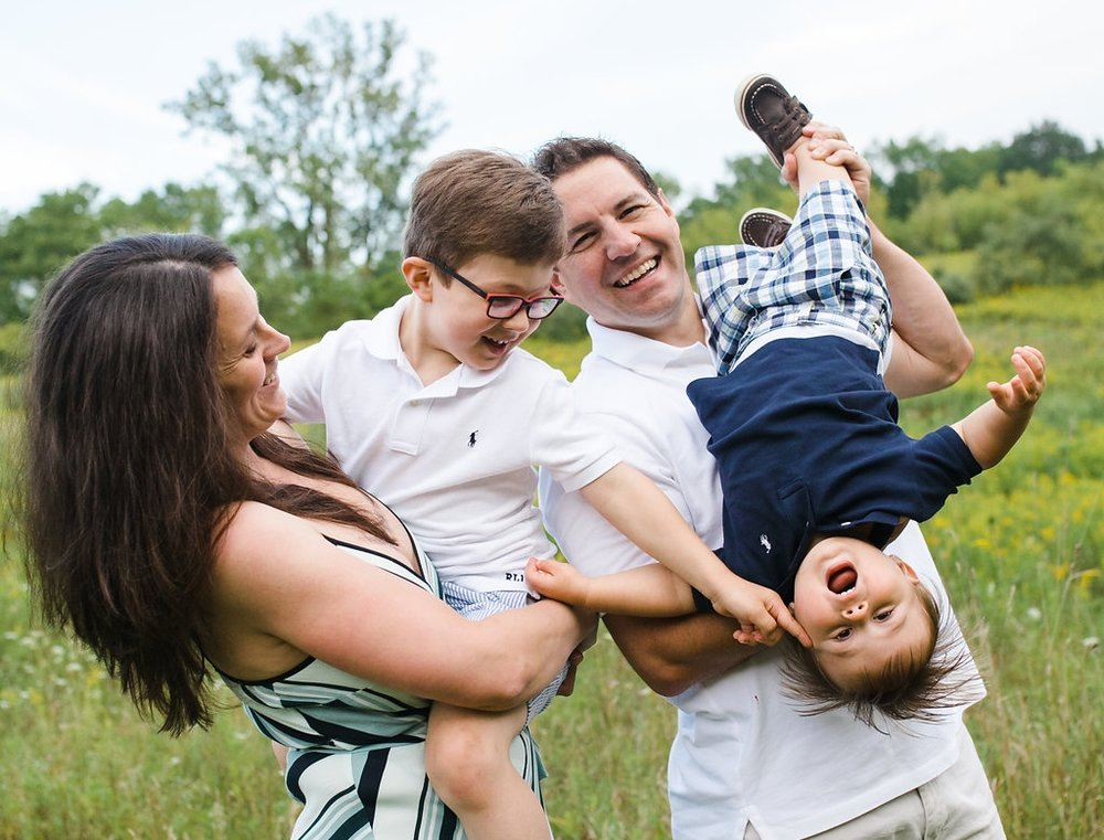 Candid unposed family photography - Rochester MI