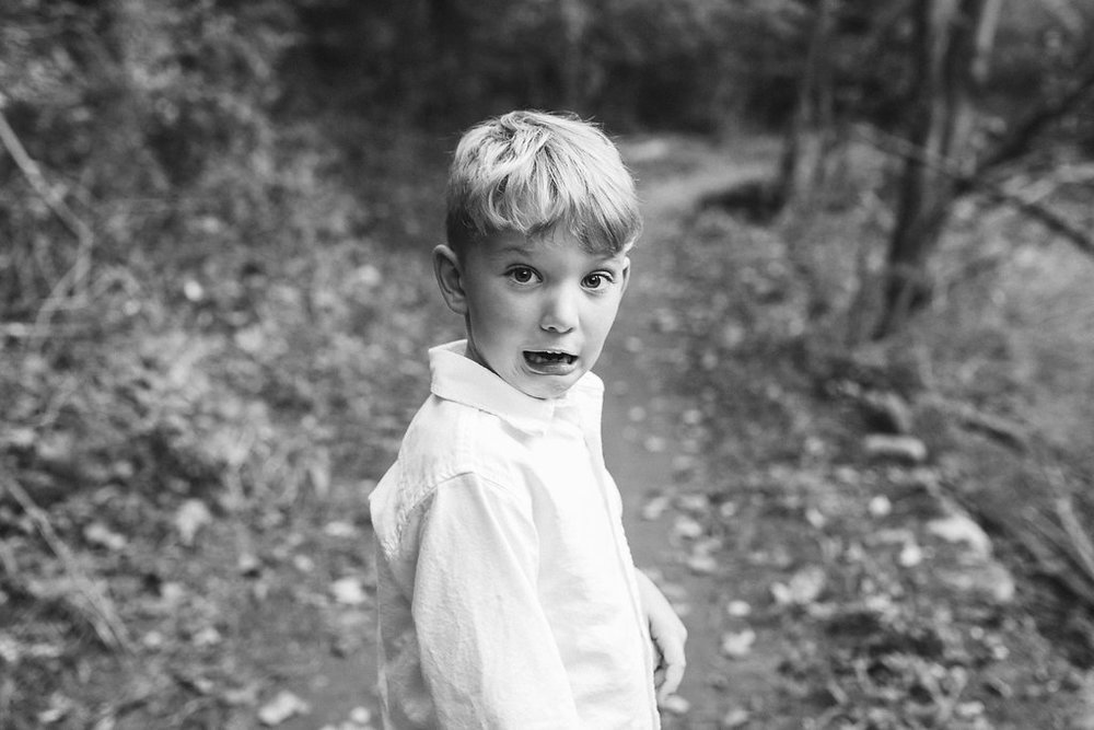 Bloomer park trail child photographer Rochester Michigan