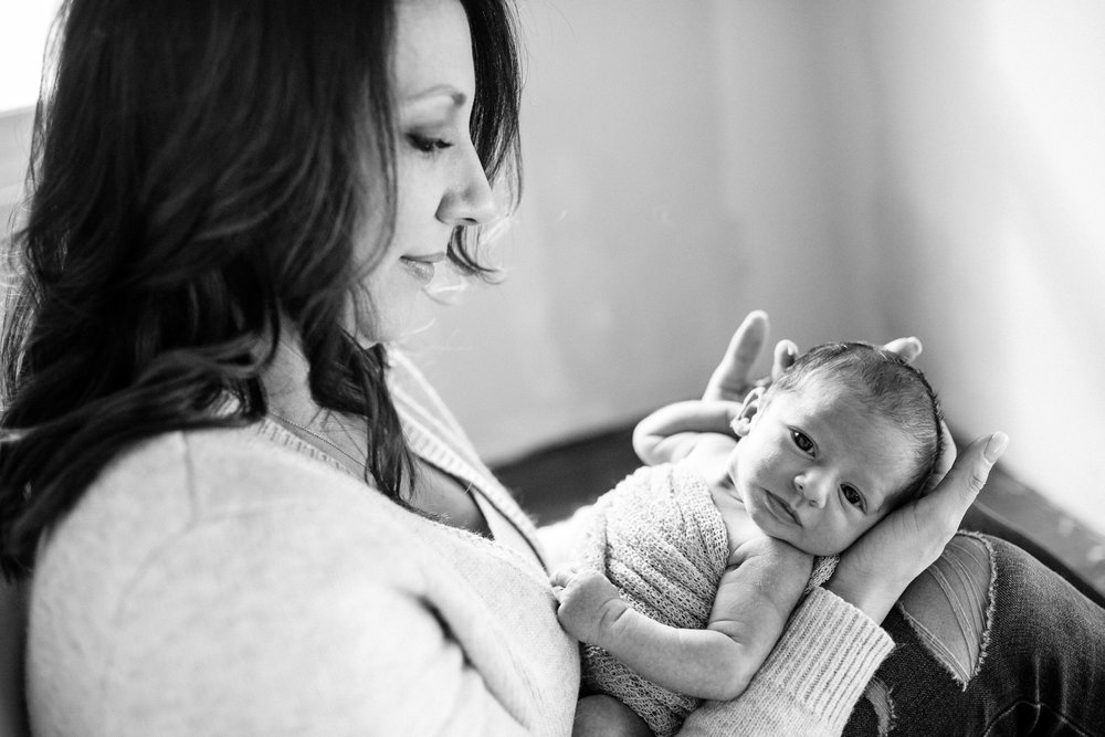 Rochester Michigan newborn photographer