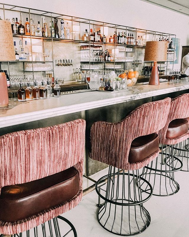 Beautiful bars 🍸 Cheers to a three day weekend!