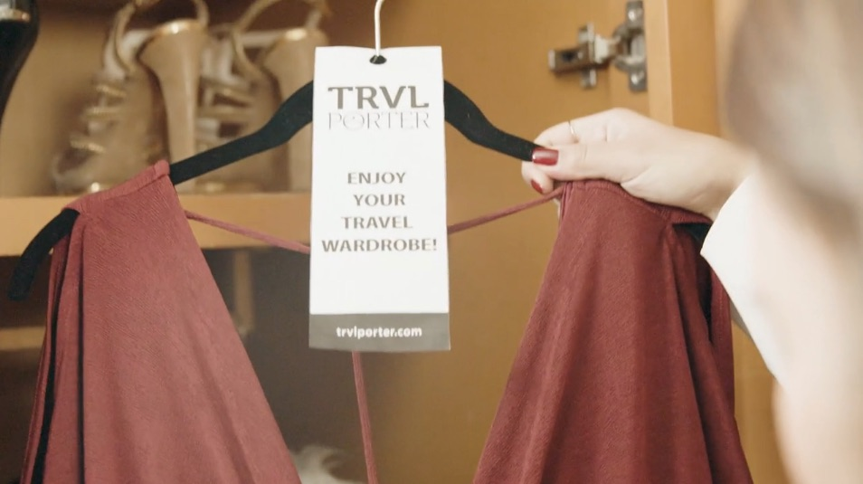 5. Receive at Hotel   When you arrive, pick up the package under the reservation name. Enjoy your new wardrobe and tag us @trvlporter so we can follow your travel + style journey.