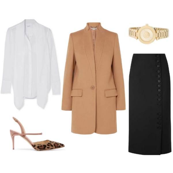 Trvl Porter Fall 2018 Business Travel Outfit 1