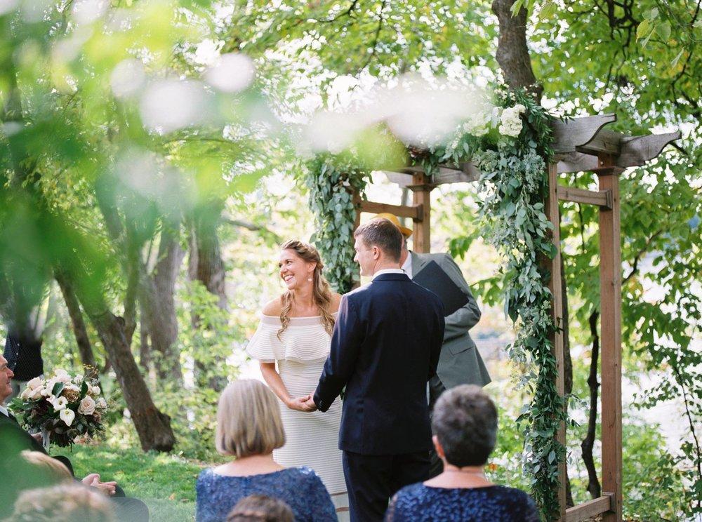 Intimate Home Wedding | Minnetonka