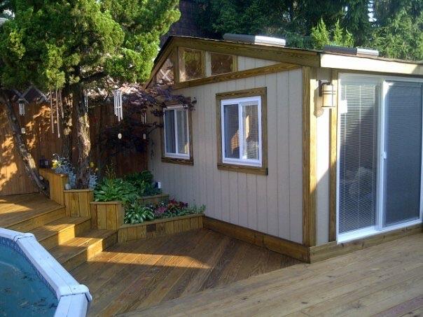 Transform Your Exterior    Decks