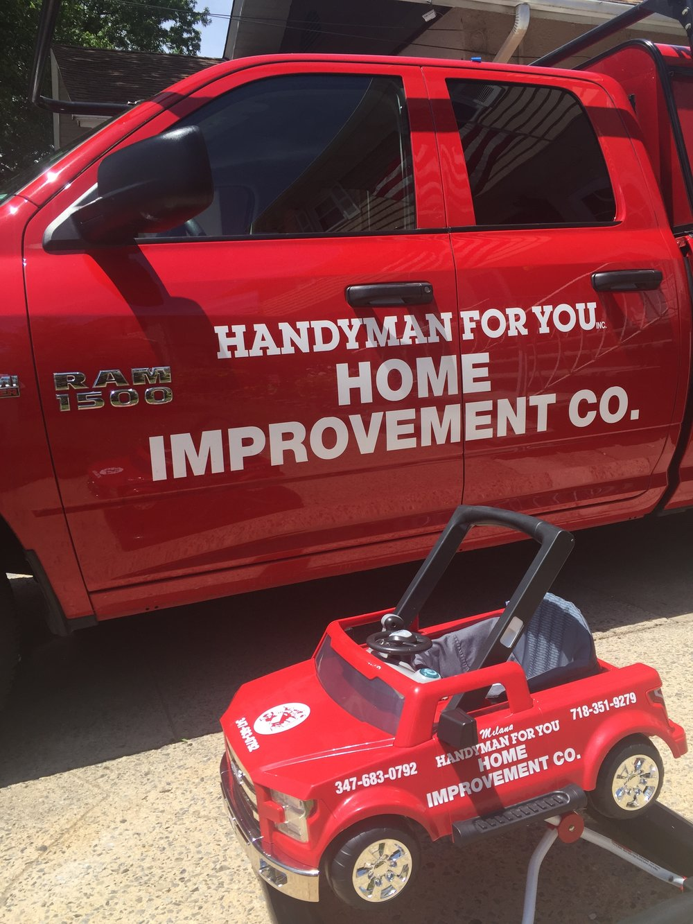 HANDYMAN FOR YOU   Home Improvement Co.   Serving Staten Island since 2001.   Contact us today!