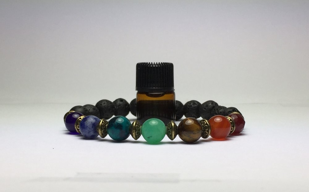 AROMATHERAPY LAVA GEMSTONE JEWELRY         used with essential oils https://ScentsibleJewelry.com