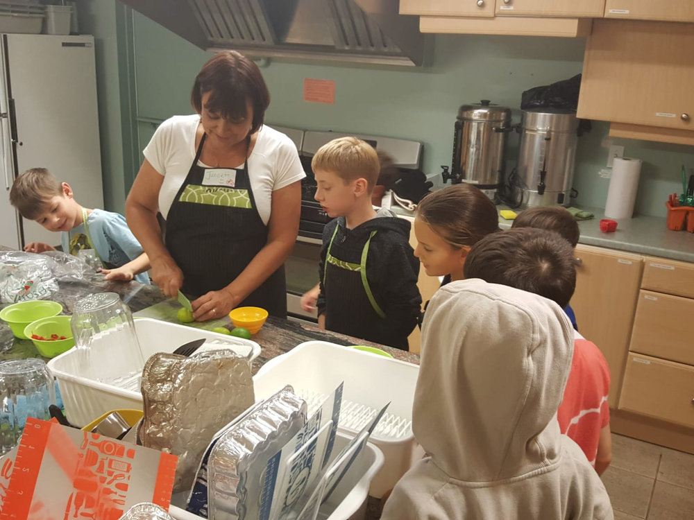 COOKSMART is a fun, hands-on cooking program designed to engage kids and young adults in nutrition and cooking basics.