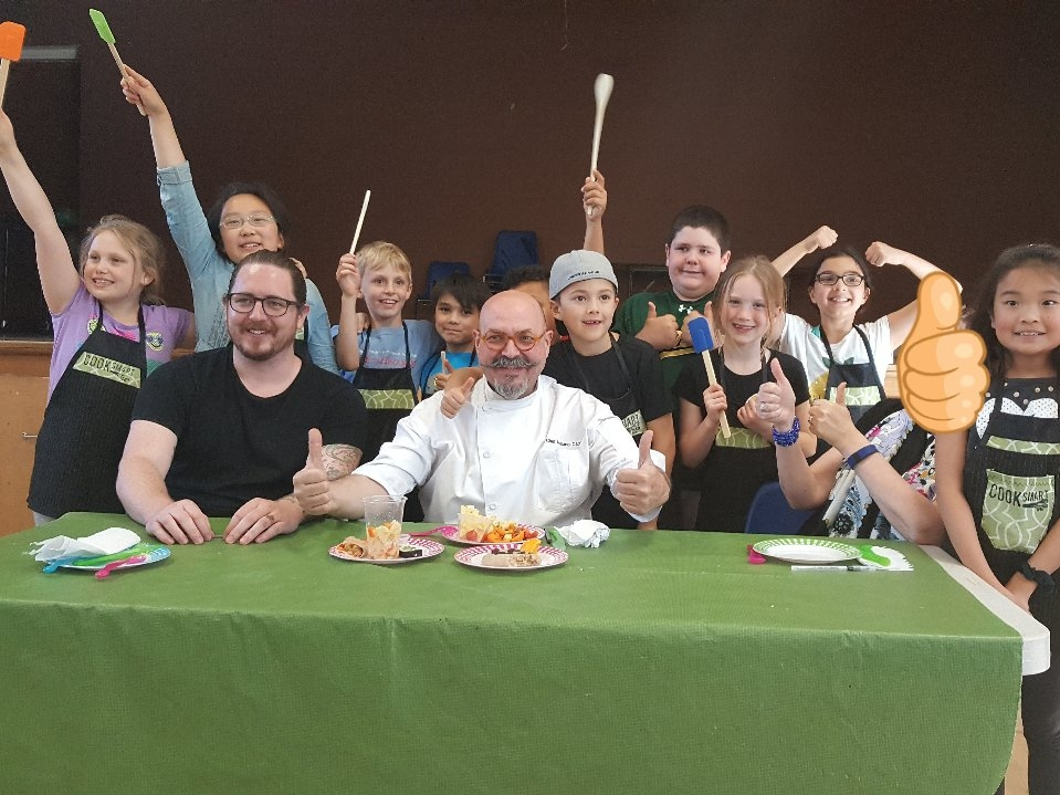 Our COOKSMART challenge is a fun cooking competition featuring judges from the community.