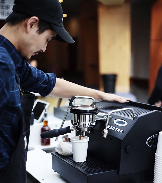 We love our @lamarzocco // 📸: @_sunnyykim