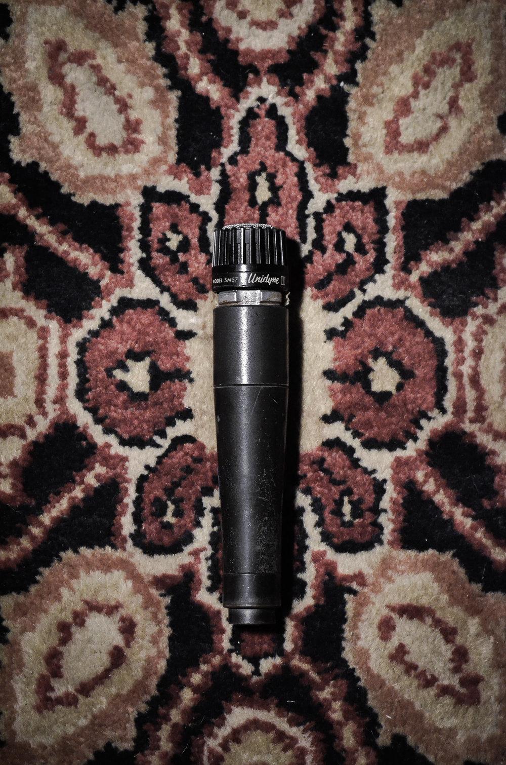Shure Unidyne 57 (Vintage)(x1)/SM57 (x2)