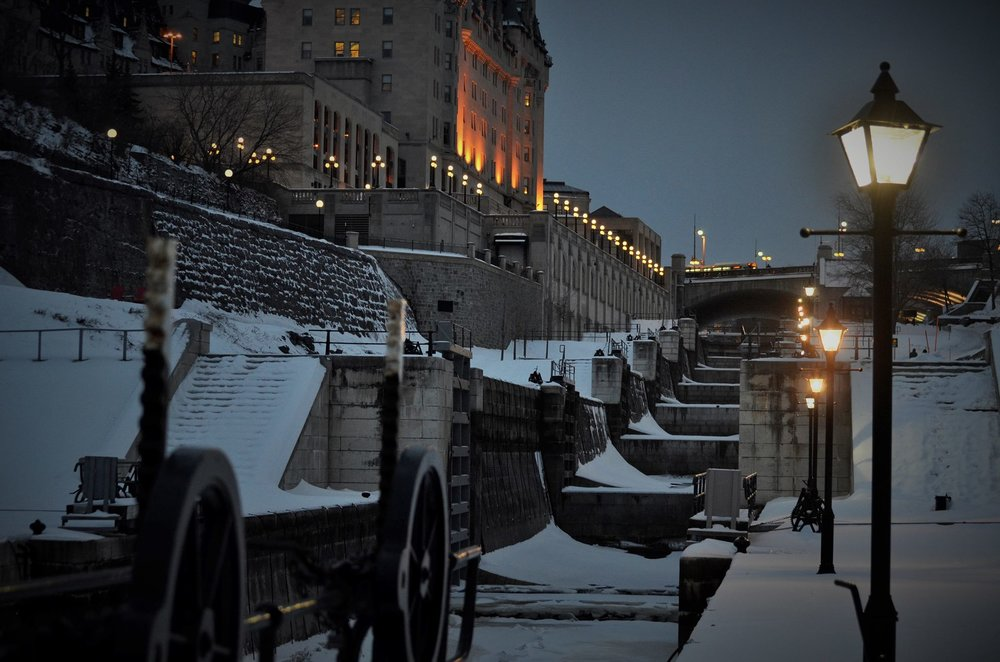 Ottawa looks so pretty with snow on it. If you own a camera you might as well capture it!