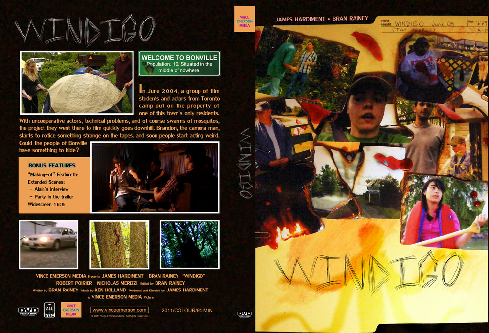 "2011 marked the release of the indie horror found footage film ""Windigo"". Available to purchase on DVD at our online shop!"