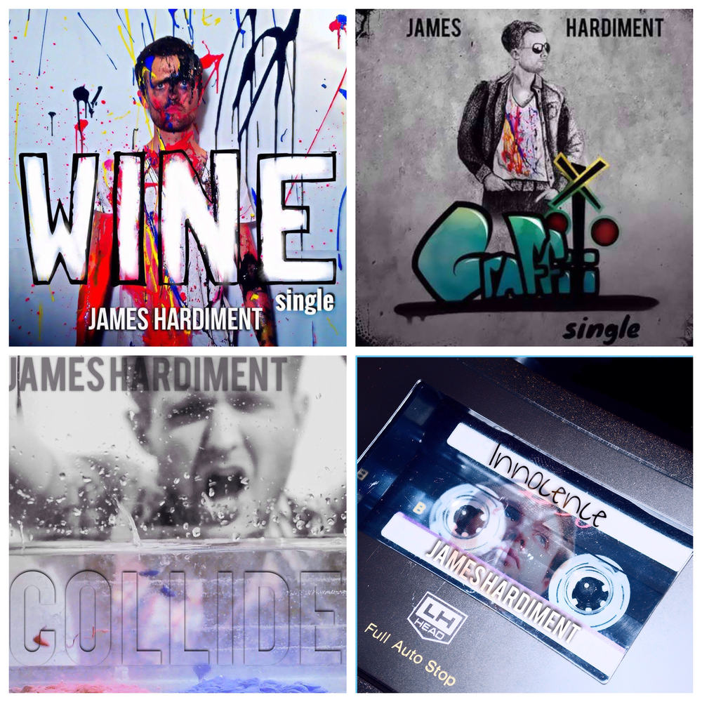 CLICK TO WATCH JAMES HARDIMENT AND HIS BRAND NEW SINGLES HERE!!!
