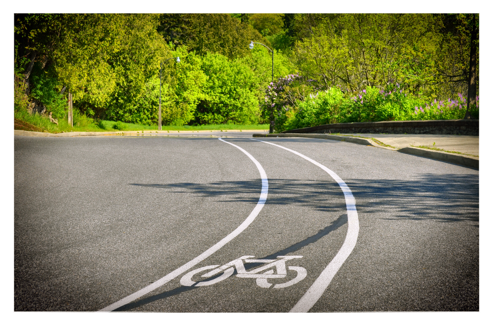 The city has spent considerable time and money to make sure that roadways are shared with cyclists as well as the paved trails that take you along the parks.