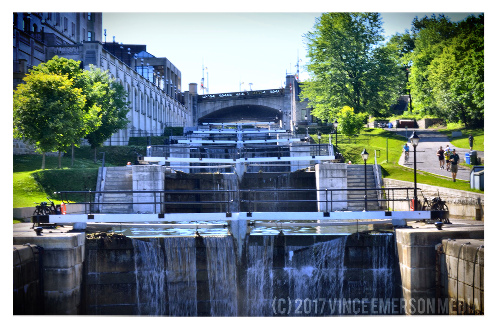 The Rideau Locks are world famous and for a good reason!