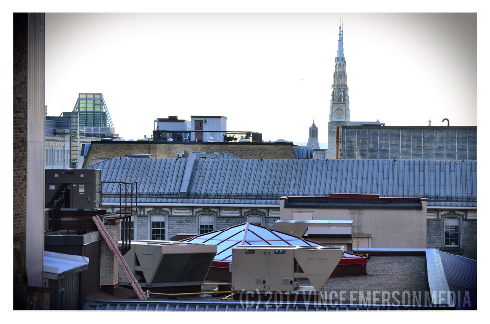 Rooftops of the Byward Market.