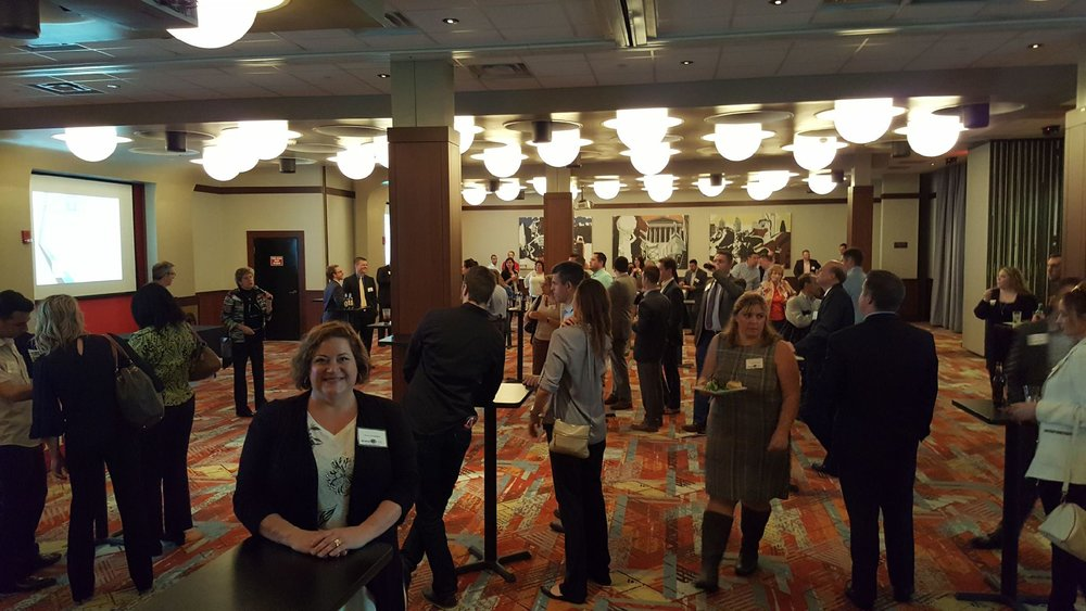 The annual autumn Mega Mixer at Dave & Buster's with four Chamber groups was mega awesome! We are officially new Montgomery County Chamber of Commerce members! Up to five CMC members can attend any event!