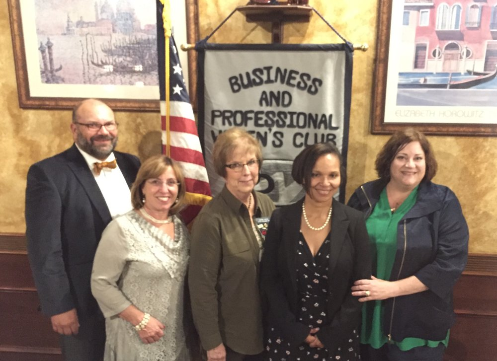 What an honor to have our official visit from our District 11 Director during National Business Women's Week and our Employer of the year award! CMC Rocks! from left to right Christian Klemp, Employer of the year Patti Klemp, District 11 Director Joanne Hersh, CMC BPW VP Sue Soriano and CMC BPW President Becky Shouldberg