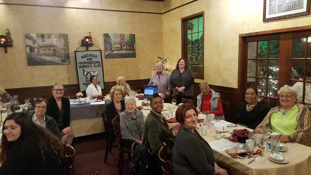 - Central Montgomery County Business and Professional Women hosted Norristown Preservation Society at their most recent member meeting. NPS volunteer Elena Santangelo ( standing left) gave an informative talk about Selma Mansion's history and the successful efforts to preserve this local treasure. Come to the Mansion for a feee community event on Sat June 16th. CMC BPW will be a vendor.
