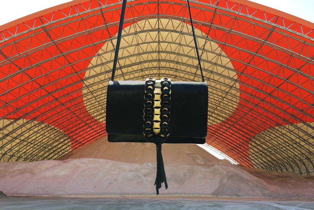 brooklyn metal leather Brooklyn New York Bushwick Williamsburg crossbody clutch bag women bags street style NYC