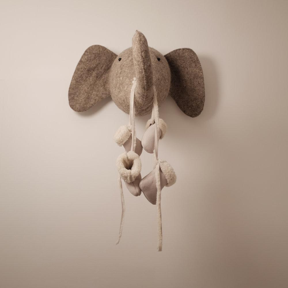 custom bespoke sheepskin shearling leather infant baby booties