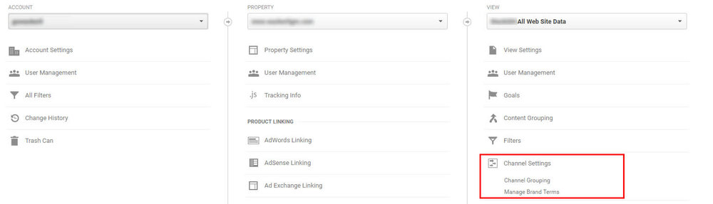 Channel Grouping inside Google Analytics