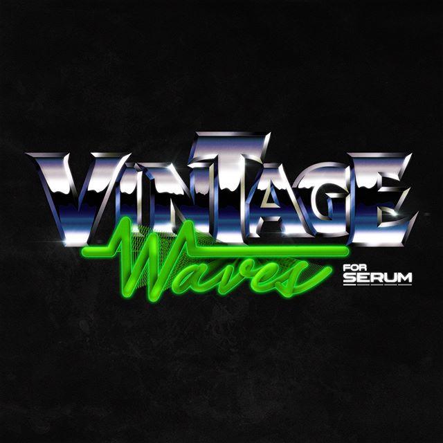 Presenting vintage Waves for Seum.  Logo designed in @adobe__illustrator  for an upcoming #Synth VST. #chromelove #vintagelogos #vintagelogo #vintagelogodesign #synthwave #synthwaveart