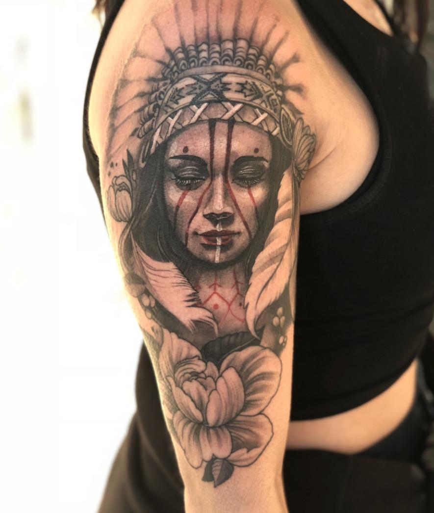 d81b4473e2099 Whitey — Hungry Wolf Tattoo