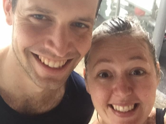 Ben & Faye walked 10,000 steps a day for a month
