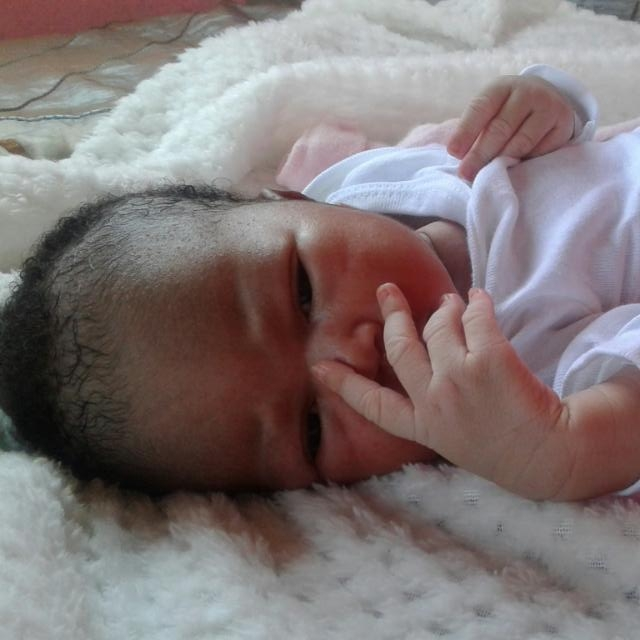 Little Zodwa was born safely and is a happy and healthy girl, being solely breastfed by her mother whose maternity care you supported!
