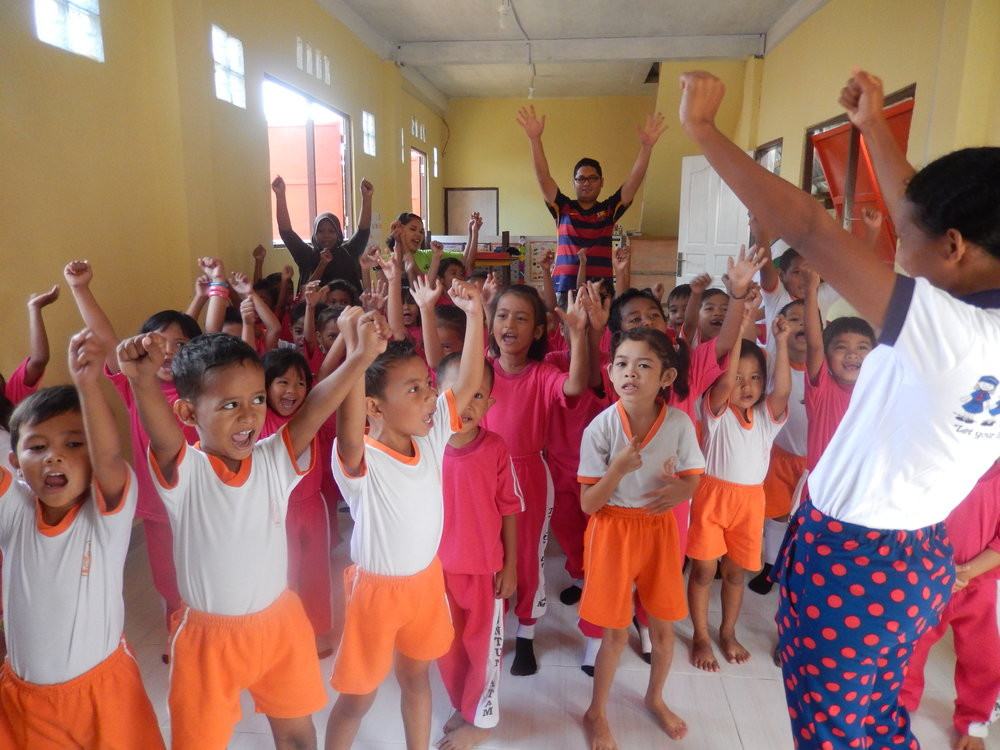 Indonesian preschool supported by Just Peoples