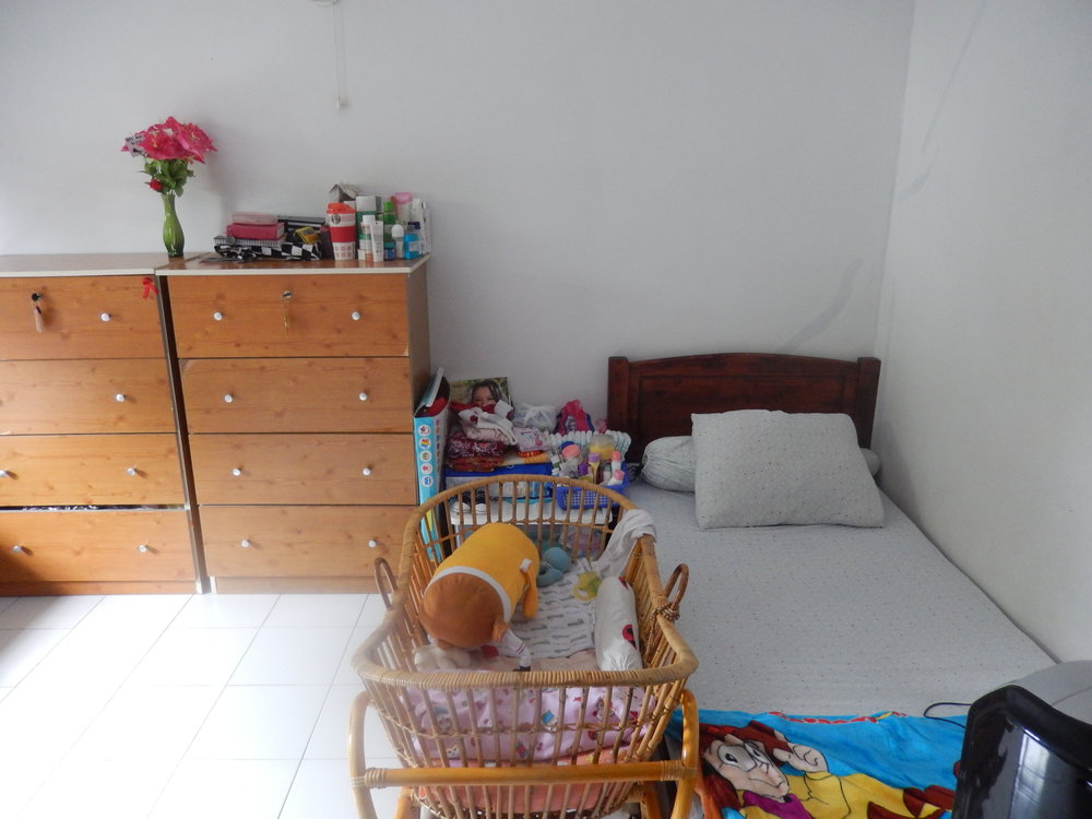 A room in the Indonesian shelter Ruth supported, for survivors of human trafficking