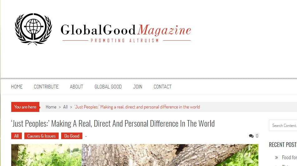 GLOBAL GOOD MAGAZINE