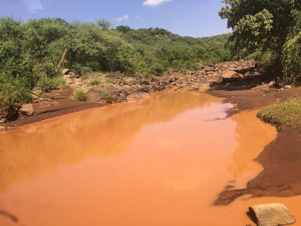 Tiaty tribe's former source of drinking water