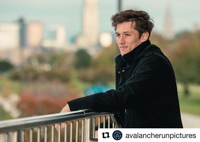 Edgewater Rules. So does Sebastian!  #Repost @avalancherunpictures with @get_repost ・・・ If you come to me for senior photos, you better be prepared to bring as much fire as Sebastian. #seniorpictures #cleveland #seniorphotos #clephotographer