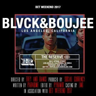 Join us - Black And Boujee - LA  June 22nd #BlackAndBoujee touches down in Los Angeles! 🏴 @DJChubbESwagg @JaeMurphy @YoDJSwerve are providing the soundtrack as we celebrate #BlackExcellence during #BETWeekend grab your tickets at BlackAndBoujee.com