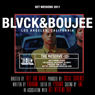 #ParadimeLA - Thursday, June 22nd is the weekend to be in LA! #BlackAndBoujee is taking over #BETWeekend for a celebration of #BlackExcellence 🏴 grab your tickets today at BlackAndBoujee.com with Promo Code: Friends