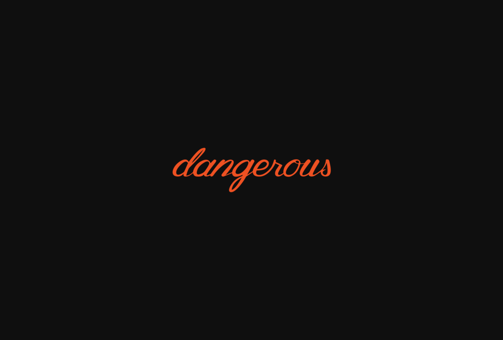 Dangerous Clothing  - Brand Identity