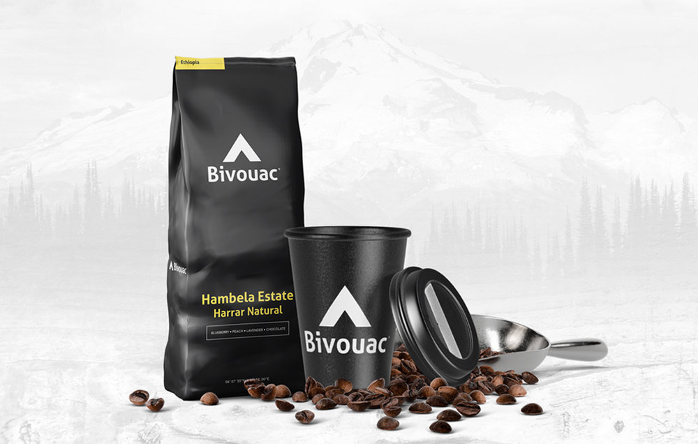 Bivoauc Coffee  - Brand Identity