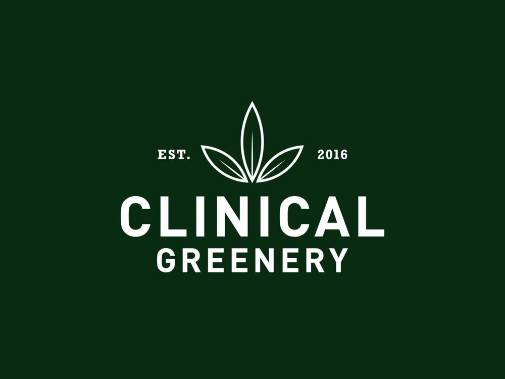 Clinical Greenery - Logo Design
