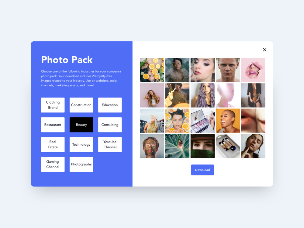 Photo Packs