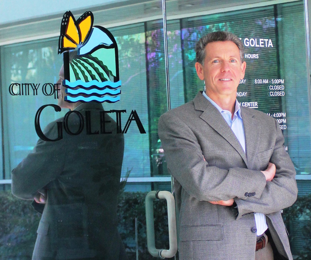 Dan Singer during his tenure as Goleta City Manager