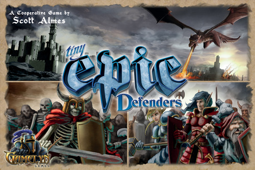 While I don't think Tiny Epic Defenders is the most inventive coop game available, it delivers a fast, easily repeatable experience that is fun, strategic, and man do I love seeing those big bads show up at the end.  https://boardgamegeek.com/boardgame/155708/tiny-epic-defenders
