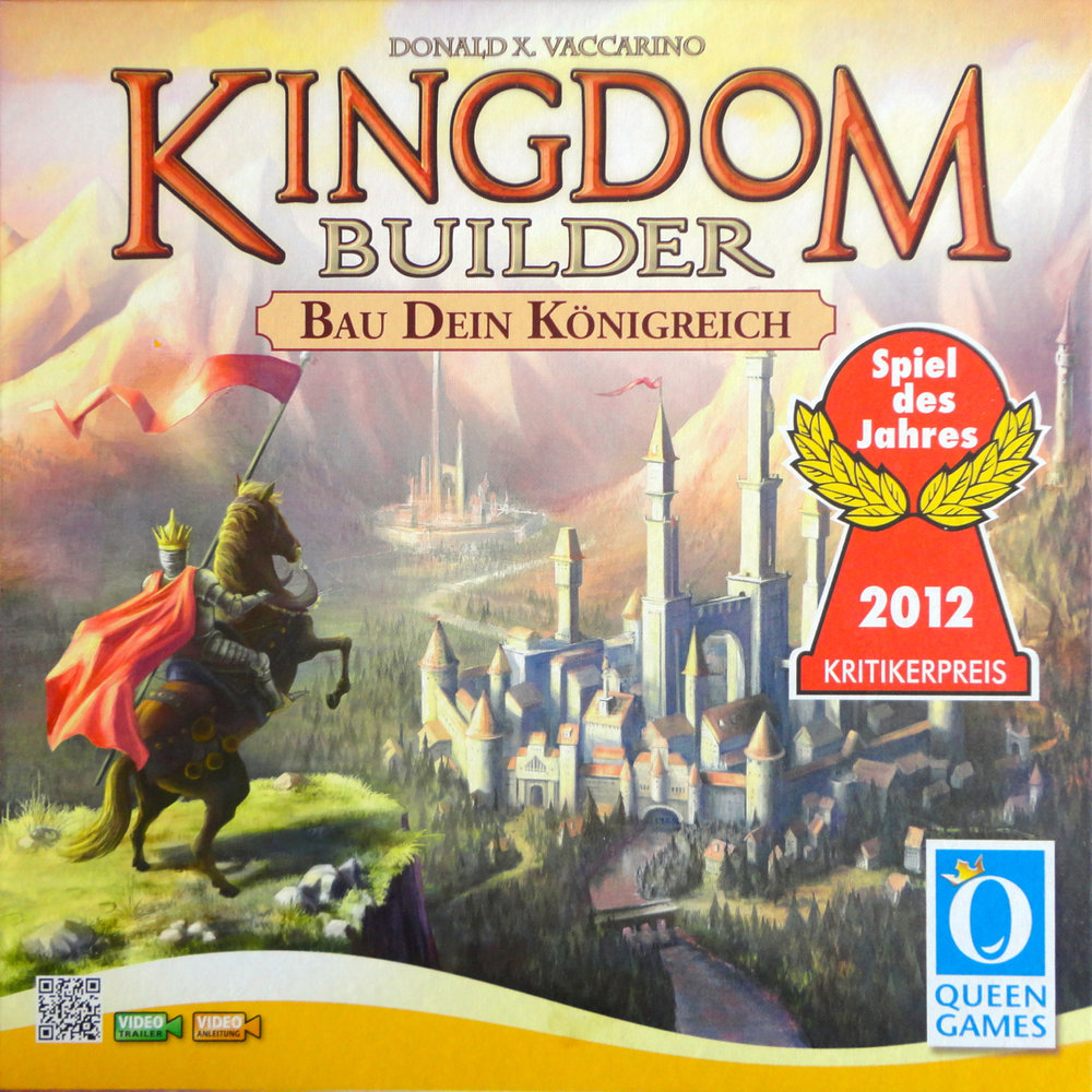 Kingdom Builder - Written ReviewVideo - Cardboard Cutouts: 3 Great Games Beyond CatanPodcast - Review & Behind the Scenes - Kingdom Builder