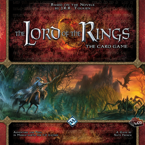 The Lord of the Rings LCG - Written ReviewPodcast - Review & Behind the Scenes - The Lord of the Rings