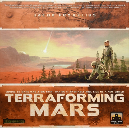 Terraforming Mars - Written ReviewVideo - Terraforming Mars Broken Token insert reviewPodcast - Interview with Stephen Buounocore (Publisher)Podcast - Dice Tower Con mini interviews ft. Stephen Buonocore (Publisher)