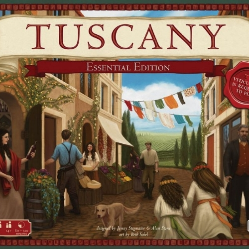 Viticulture: Tuscany Essential Edition - Written ReviewVideo - Cardboard Cutouts: 3 Great Expansions That Take it to 11Podcast - Interview with Jamey Stegmaier (Designer)Podcast - Jamey Stegmaier Returns (Designer)Podcast - Interview with Morten Monrad Pederson (Automa Designer)